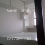 Desain interior minimalis kamar tidur apartemen