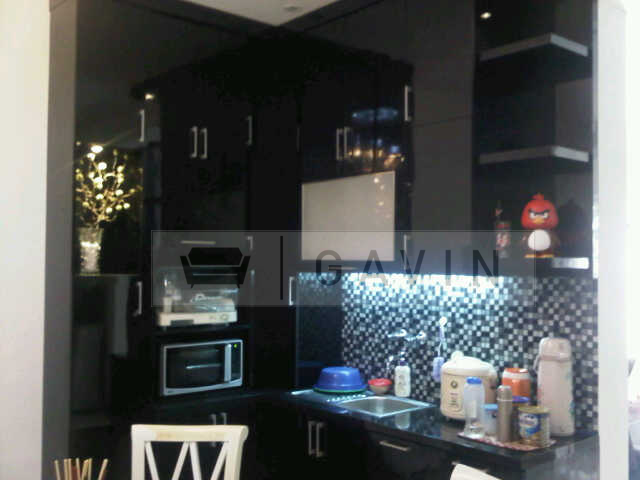 Gavin furniture rak buku minimalis gavin rak buku built in for Harga kitchen set aluminium