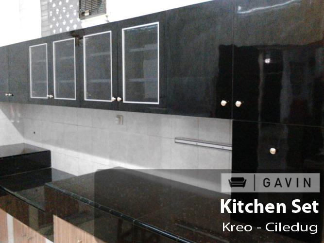 Pin kitchen set hpl hijau on pinterest for Kitchen set hpl