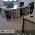 Meja kantor minimalis untuk pak Dian di cirebon