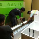 pemasangan cabinet tv-gavin furniture