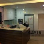 Kitchen set untuk klien di Apartment Kebagusan City Jaksel