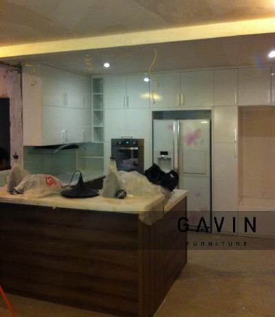 Kitchen set untuk klien di apartment kebagusan city jaksel for Kitchen set jakarta
