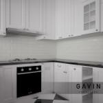 Kitchen cabinet American Style untuk klien cibubur
