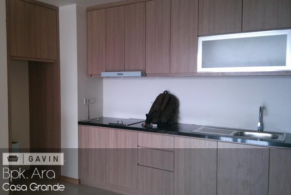 Gambar kitchen cabinet dan lemari minimalis karya gavin for Lemari kitchen