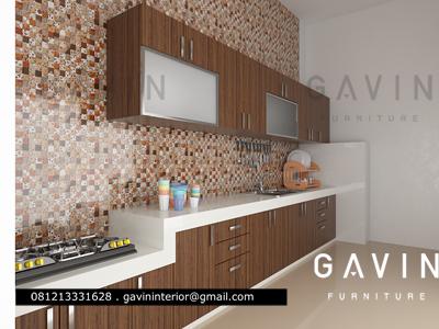 3D desain kitchen set PI jakarta selatan