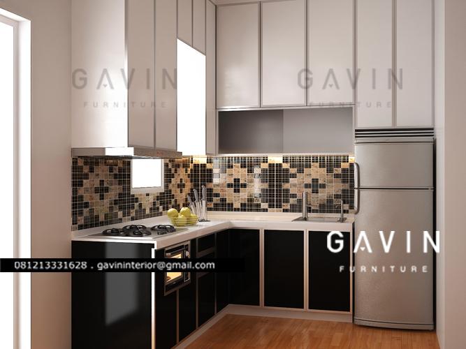 final 3D design kitchen set duco piyu PIK