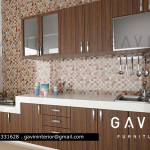 Kitchen Set di Pondok Indah Jakarta Selatan model minimalis