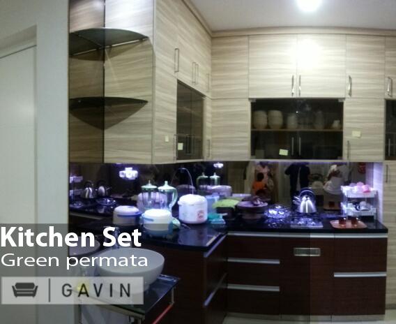 gambar kitchen set minimalis