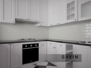 Kitchen Set American Style Dengan Bahan Duco