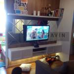 Backdrop Tv HPL Kombinasi Duco Klien Di Pakubuwono Jakarta Selatan
