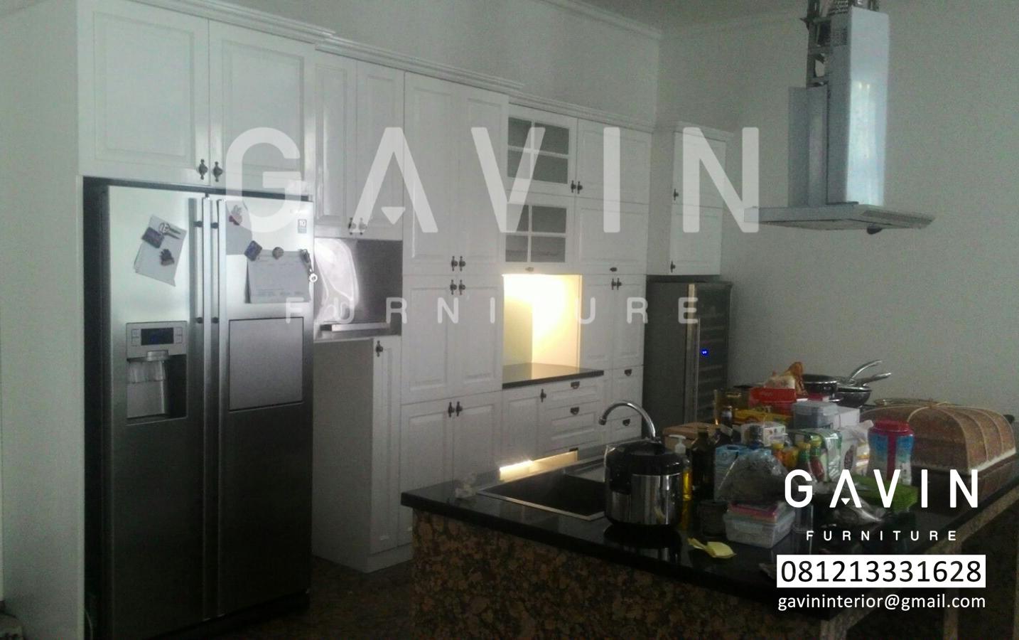 Jasa finishing duco kitchen set minimalis lemari for Kitchen set tangerang