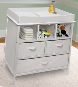 Baby Changing Table Putih Duco