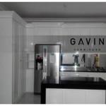Kitchen Set Dengan HPL Glossy Ibu Nadia Cibubur