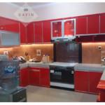 Harga Kitchen Set Bahan HPL Warna Merah Di Ciputat