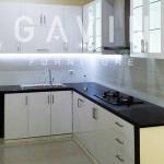 Kitchen Set Murah Warna Putih Klien Di Jakarta Utara