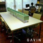 Produksi Meja Kantor Custom Klien Di Rasuna Said