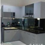 Proses Pembuatan Kitchen Set Model Minimalis Abu-Abu Di Bogor