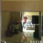 Pesanan Lemari Sliding Dengan Full Cermin Klien Di Pasar Minggu