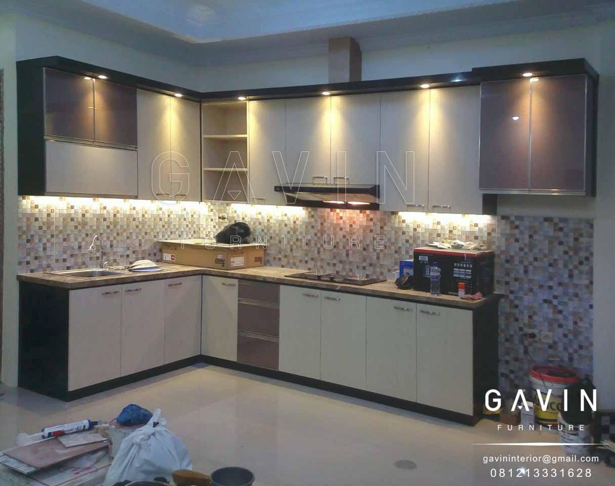 Pembuatan kitchen set di kemanggisan kitchen set - Design interior kitchen set minimalis ...