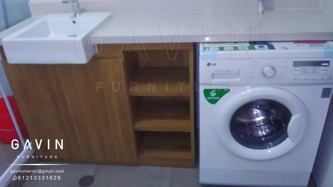 Harga meja wastafel kitchen set minimalis lemari for Harga kitchen set duco per meter
