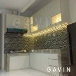 Q2573 harga kitchen set 2017 finishing HPL by Gavin