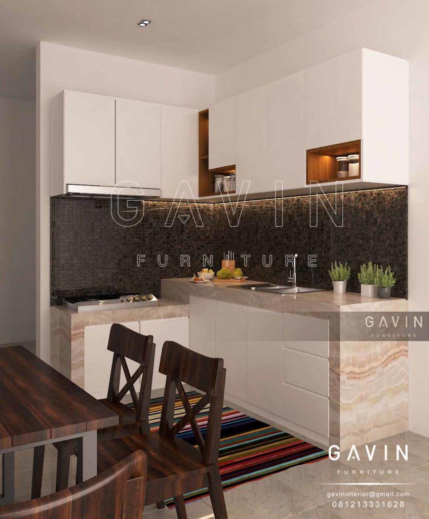 Q2573 harga kitchen set 2017 model minimalis