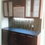 lemari dapur kaca