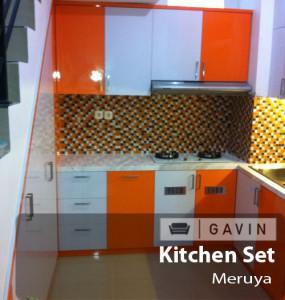 kitchen set HPL meruya - Gavin