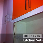 kitchen set HPL orange - Gavin