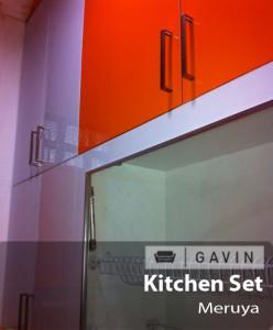 kitchen set HPL orange - Gavin