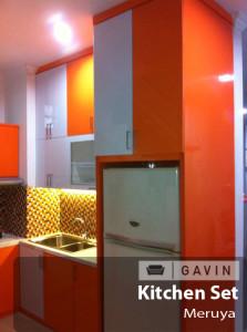 kitchen set hpl glossy joglo - Gavin