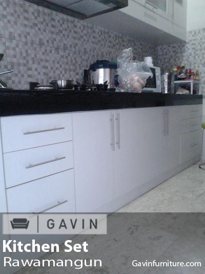 Lemari Dapur Kabinet Bawah Rawamangun Gavin