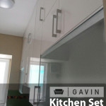 lemari kitchen set sampai plafon - gavin,jog