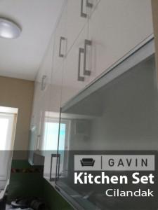 lemari kitchen set sampai plafon - gavin,jog