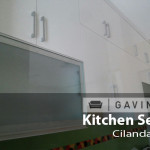 pintu kaca kitchen set - gavin