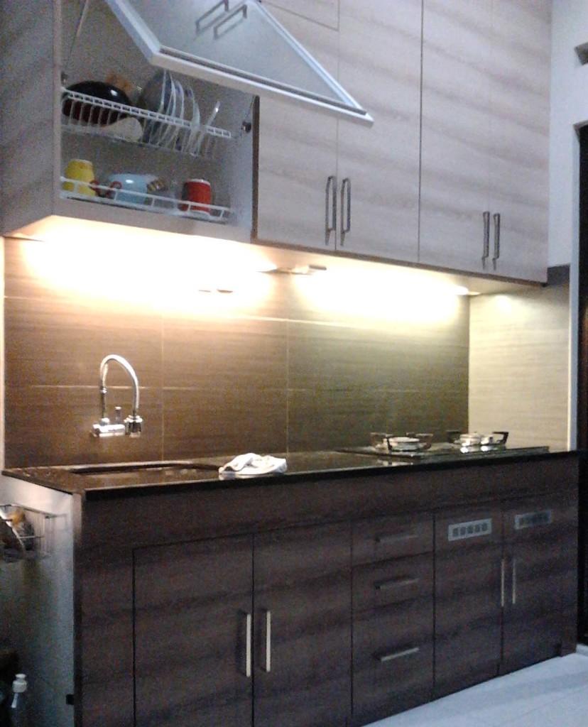Kitchen Set Gantung: Kitchen Set Minimalis - Lemari
