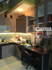 desain kitchen set minmalis bintaro