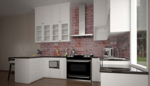 kitchen set home small