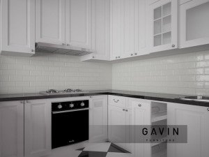 desain kitchen american style cibubur gavin furniture