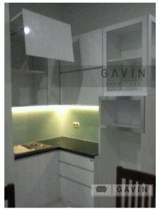 kitchen set dapur bersih grand matoa gavin