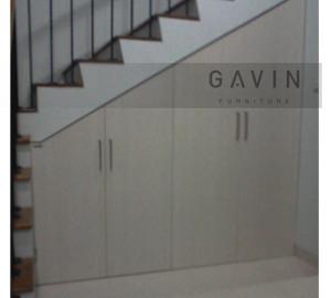 lemari bawah tangga gavin