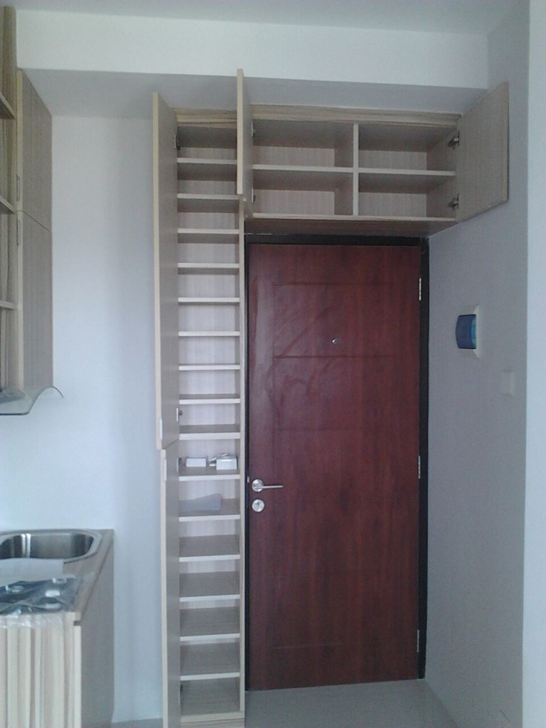 rak dapur apartment kebagusan city