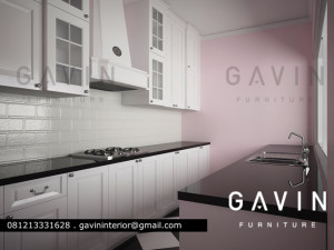 3d kitchen set minimalis cibubur gavin