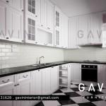 final design kitchen set minimalis cibubur gavin