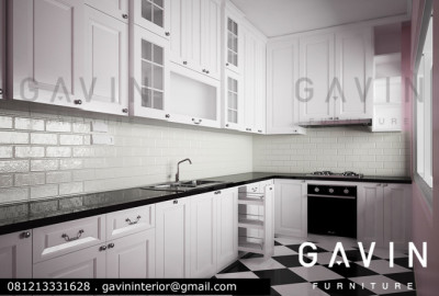 final design kitchen set minimalis cibubur gavin
