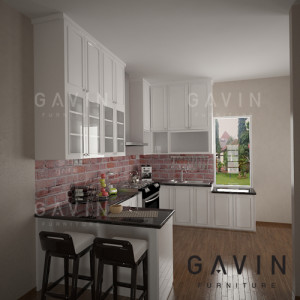 kitchen set duco klasik di bintaro