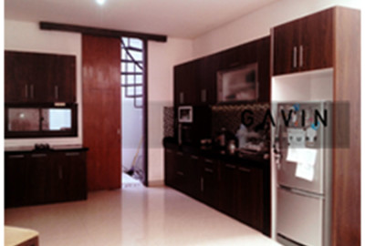 Harga Kitchen Set Finishing HPL Ibu Astri Ciputat
