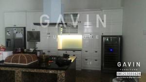 Gambar Kitchen Set Duco Putih