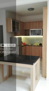 Harga Kitchen Set Finishing HPL Klien Di Citra Grand Cibubur